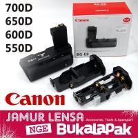BATERAI Grip Canon 600D 700D Batre Grip 650D 550D Vertical Batrei