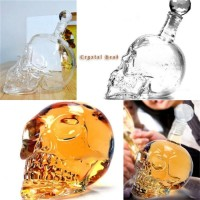 Botol Skull Crystal Head Vodka Ukuran Besar 1000ml liquor whiskey