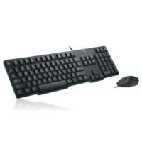 Paket Keyboard PS2 Logitech K100 + Mouse USB B100 Combo Bundling