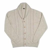 Jual Cardigan / Jaket Gu By Uniqlo Mens Knitted Shawl Cardigan
