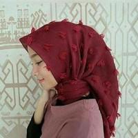 Hijab segi Empat Rubiah / Jilbab / Khimar/ Kerudung/ Bergo /Scarf