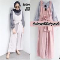 baju model sekarang butik online murah Izora Sset 2 in 1