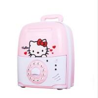 Mainan Edukasi Saving Box Hello Kitty - Mainan Celengan ATM