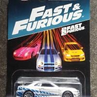 Hot Wheels Nissan Skyline GTR Fast n Furious