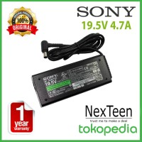 ORIGINAL Adaptor Charger Sony Vaio 19.5V 4.7A VGN-S Series