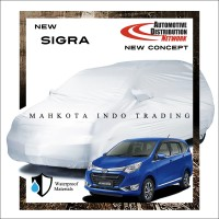 Custom Double Layer Body Cover / Sarung Mobil Daihatsu Sigra Fit On