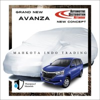 Custom Double Layer Body Cover / Sarung Mobil Grand New Avanza 2016