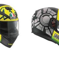 Helm AGV K3 SV # Winter Test Black - Limited Edition