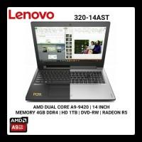 LENOVO IDEAPAD 320 14AST AMD A9 9420 - 4GB -  1TB -  DOS