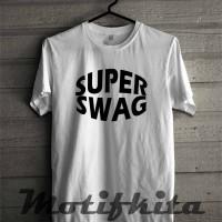 Baju Kaos SUPER SWAG YOUNG LEX Simple Keren Baju Distro Pria Wanita