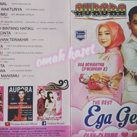 Kaset VCD original OM AURORA duet EGA ACADEMY feat GERRY MAHESA
