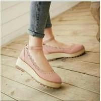 Jual wedges 247 salem platform kets sepatu hak tinggi cantik fashion wanita Murah