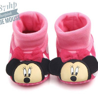PW58 - Prewalker shoes minnie pink sepatu baby toddler