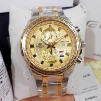 JAM TANGAN CASIO EDIFICE ORIGINAL EFR-559 GOLD