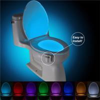 LAMPU CLOSET LED SENSOR GERAK - TOILET LAMP - PENERANGAN KAMAR MANDI,