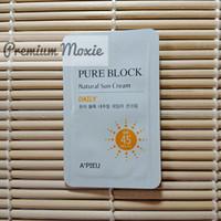 A'pieu Pure Block Natural Sun Cream Daily