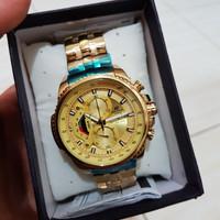 JAM TANGAN CASIO EDIFICE ORI-BM EFR 558 GOLD