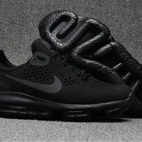 NIKE AIR MAX DLX REVOLUTION ALL BLACK