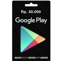 Google play gift card region indonesia-50.000