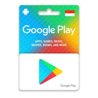 Google play gift card region indonesia-500.000