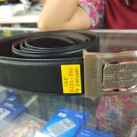 st dupont - ikat pinggang - belt pria - kulit asli