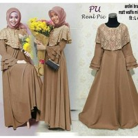 Supplier Hijab Gamis Cantik Jual dress Murah/Grosir dress Murah/ANDINI