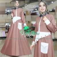 Supplier Hijab Gamis Cantik Jual dress Murah/Grosir dress Murah/QINAN
