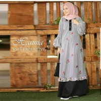 Supplier Hijab Gamis Cantik Jual dress Murah/Grosir dress Murah/HANIA