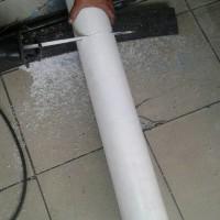 PTFE TEFLON Rod 180mm / TEFLON Batangan Tahan Panas / PTFE Serbaguna