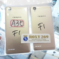 Tutup Casing HP Oppo F1 GOLD ORI - Backdoor Back Door Back Cover F 1