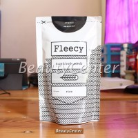 EXSCLUSIVE Fleecy Whitening Body Scrub Rice Lulur Whitening Fleecy Ri