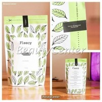 TERBATAS Fleecy Whitening Body Scrub Green Tea Lulur Pemutih Fleecy G