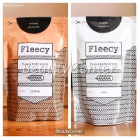 SPESIAL NEW Fleecy Body Scrub Aroma Rice dan Cofeee Original 100