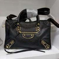 Tas wanita selempang hitam Balenciaga Small Black authentic original