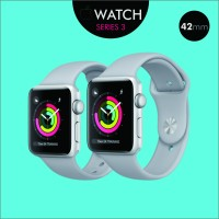 APPLE WATCH SERIES 3 (42mm) SILVER ALUMINIUM + FOG SPORT BAND