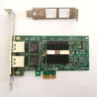Lan Card Intel Dual Port 1000 Gigabit i82575EB 82575 Pci Express x1