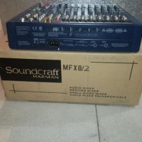 Soundcraft Mfx8 Ii