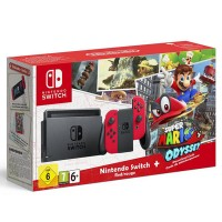 Jual Console Nintendo Switch Red Super Mario Odyssey Limited Edition Murah