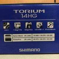 Reel Pancing Shimano Torium 14 Hg