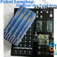 Harga paket lengkap kit mixer dan panel atas 8 potensio 4 | Hargalu.com