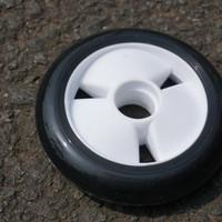 wheels inline skate atau sepatu roda 100 mm WEIQIU