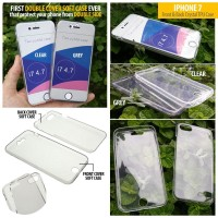 iPhone 7 - Iphone 8 - Front & Back Crystal TPU Case Murah