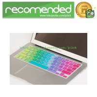 Macbook Mac Book PRO AIR Rainbow Color Silicone Keyboard Cover tector