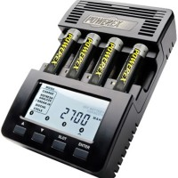 JUAL MAHA POWEREX MH-C9000 WIZARDONE CHARGER-ANALYZER FOR 4 AA/AAA