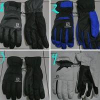 Jual Sarung Tangan Salomon Gore-Tex Mountain Gloves Diskon
