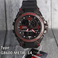 Dijual Model Baru !!! G-Shock Gun Metal Besi Casio G8600 Jam Tangan