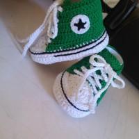 Sepatu Bayi Rajut Converse