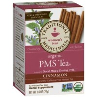 (Sale) Traditional Medicinals, Women's Teas, Organic PMS Tea, 16pcs