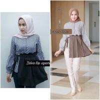 baju model sekarang butik online murah Zalea Top