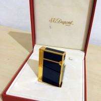 Lighter Korek Api Mewah St Dupont Gatsby L2 Paris Motif Gold